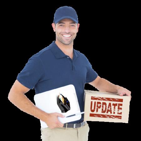 Servicio de actualización de detectores de billetes