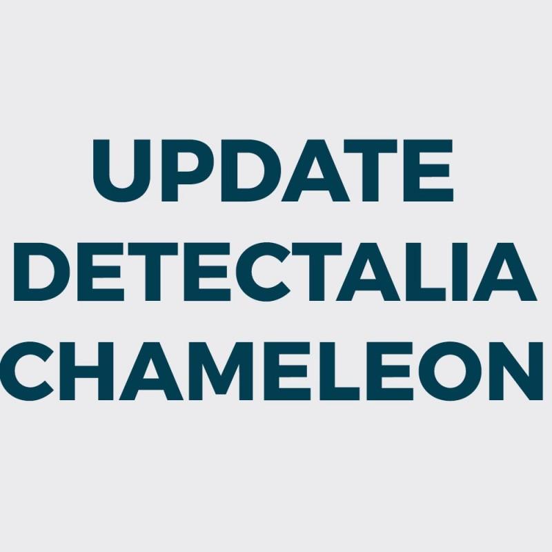 Actualización Detectalia Chameleon