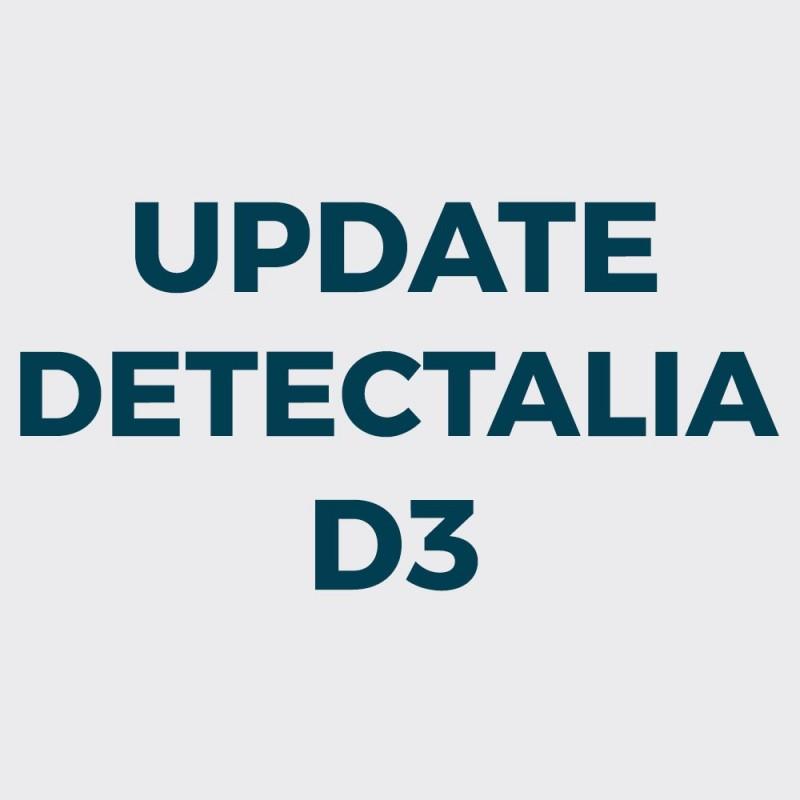 Actualización Detectalia D3