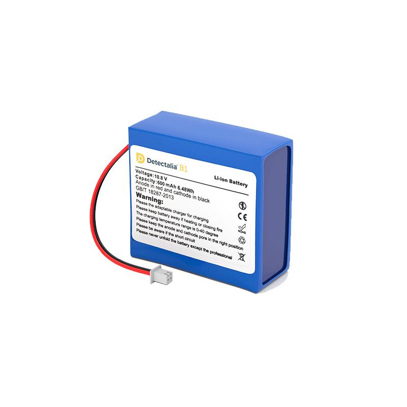 Batería recargable Detectalia B1