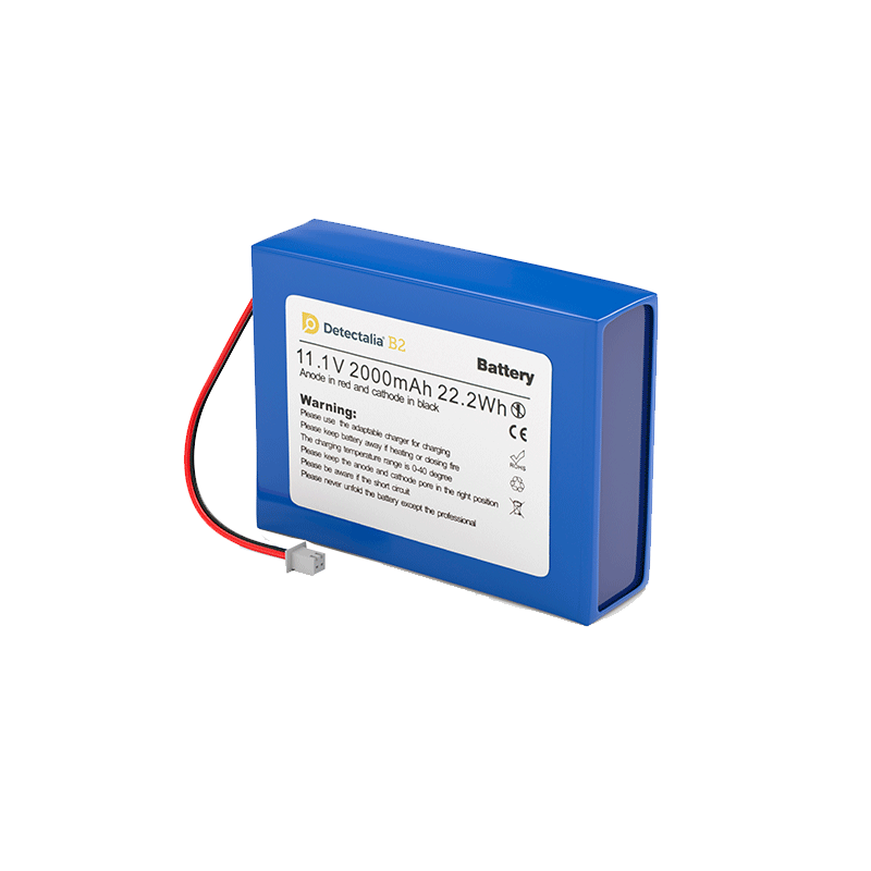 Batteria ricaricabile Detectalia B1
