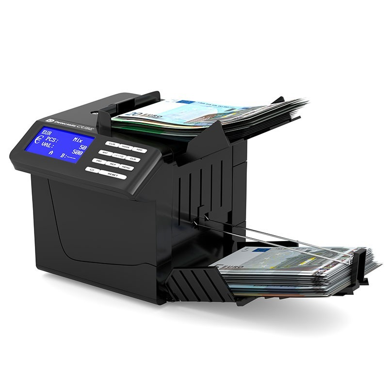 Portable value banknote counter