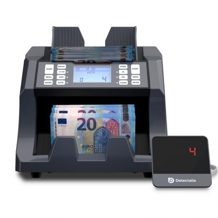 Contador de billetes para todas las divisas
