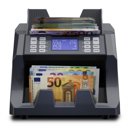 Banknote value counter and sorter
