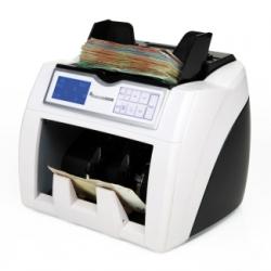 Valoradora de billetes con detección séxtuple