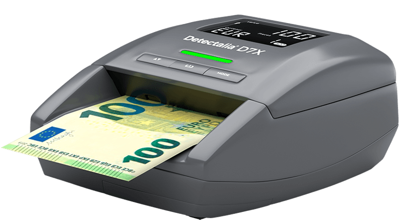 Counterfeit banknote detector